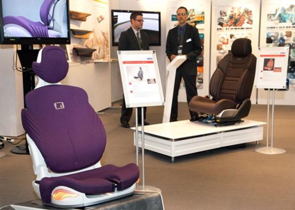 Автомобильное кресло с поддержкой Bluetooth