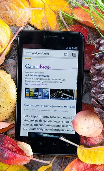 Обзор Android-смартфона Prestigio MultiPhone 4300 DUO