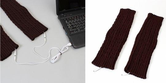 USB-гетры от Thanko