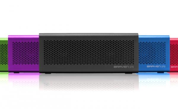 Разноцветные Bluetooth-аудиосистемы Braven 570