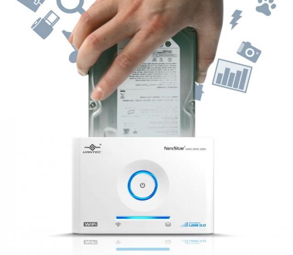 Vantec NexStar – док для жесткого диска с поддержкой Wi-Fi