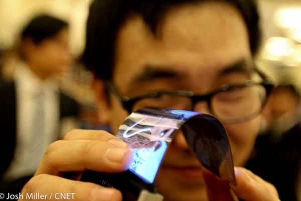 Samsung покажет гибкие дисплеи на CES 2013