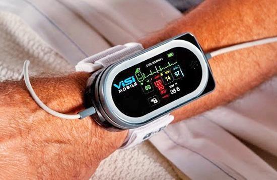 Портативный датчик здоровья ViSi Mobile Monitor
