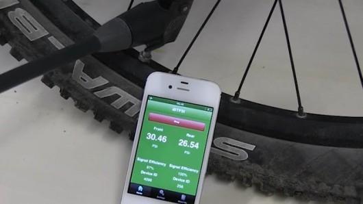 BTPS – беспроводной датчик давления в велосипедных шинах