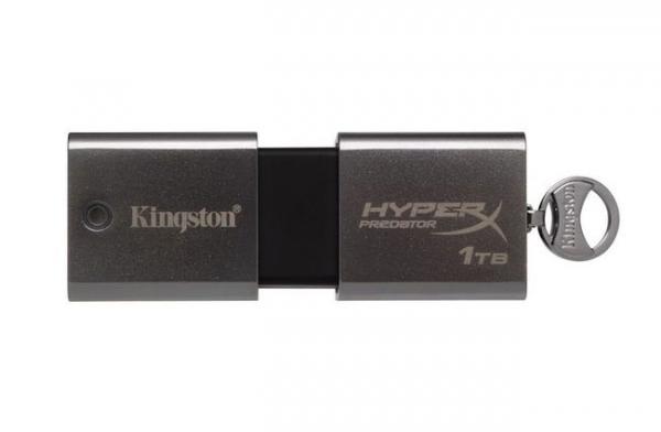 Первая в мире терабайтная флешка от Kingston