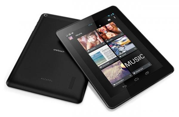 Планшеты Alcatel One Touch Tab представлены на CES