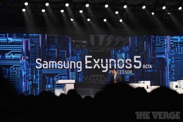 Samsung официально представила 8-ядерный чип Exynos 5 Octa