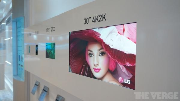 Сверхчеткие 30-дюймовые 4K-дисплеи от LG