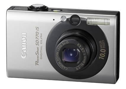 Canon выпускает три новые 10-мегапиксельные камеры