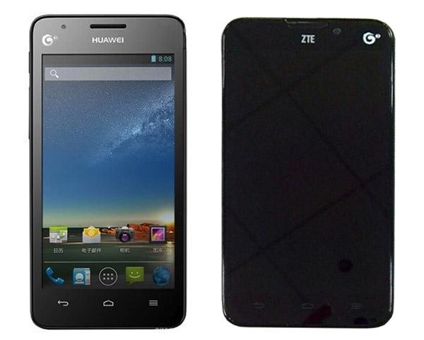 Huawei и ZTE готовят недорогие четырехъядерники под Android