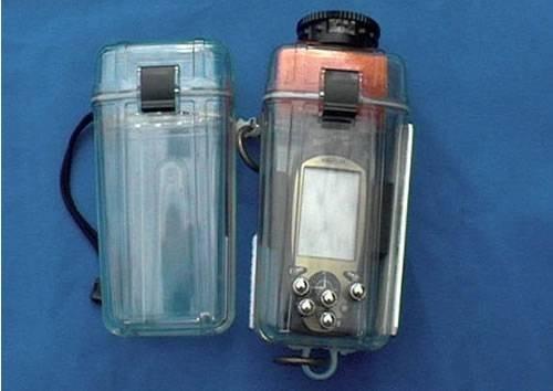 GPS-приемник для дайверов