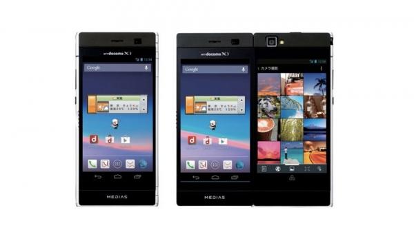 NEC Medias W – Android-смартфон с двумя дисплеями