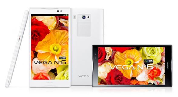 Pantech выпустила 5,9'' смартфон Vega N°6