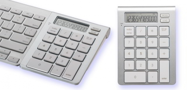iCalc – цифровая клавиатура-калькулятор для Apple Wireless Keyboard