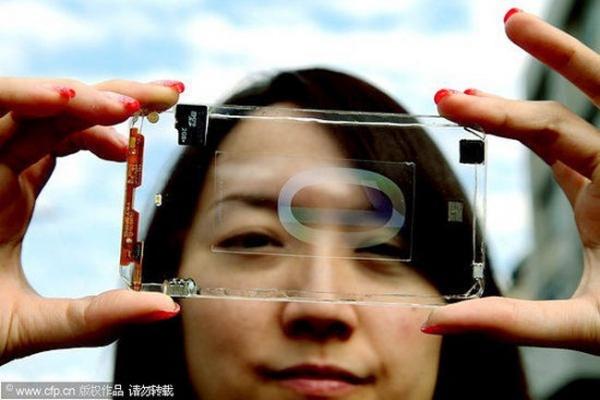 Прозрачный телефон