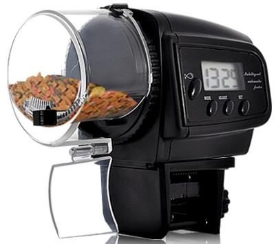 Автоматическая кормушка для рыб Automatic Fish Feeder