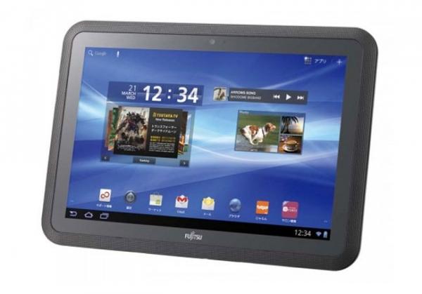 Arrows Tab — новый планшет от Fujitsu с мощным аккумулятором
