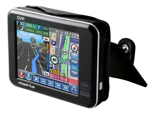Портативный GPS-навигатор FineDrive CUVi