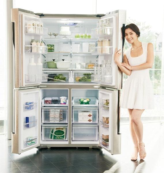 Холодильник под ОС Android и стиральная машина с интернетом от Samsung