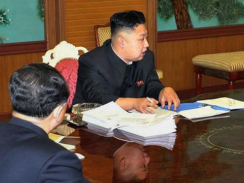 Лидер КНДР пользуется политкорректным смартфоном