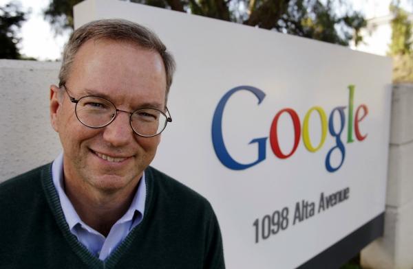 Эрик Шмидт продает 40% своих акций Google