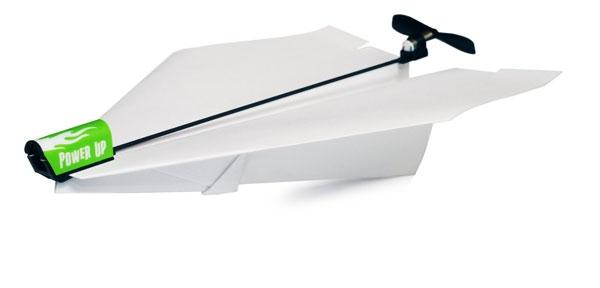 PowerUp – управляемый электрический пропеллер для бумажных самолетов