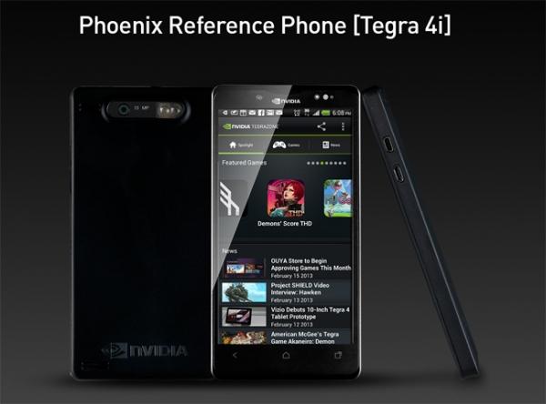 NVIDIA Phoenix – референс-платформа для смартфонов