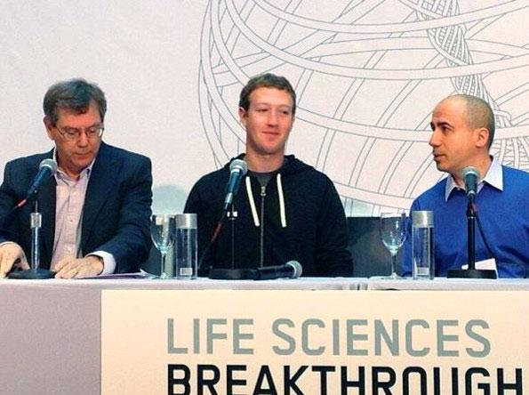 Цукерберг, Брин и Мильнер дают 33 млн. на прорывы в биологии и медицине