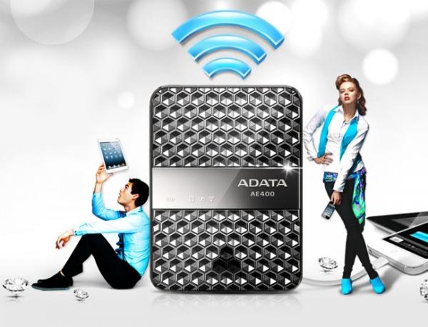 ADATA DashDrive Air AE400 – беспроводное устройство для совместного доступа к данным