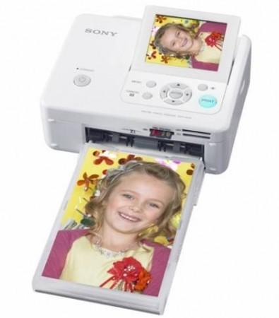Новые компактные фотопринтеры от Sony