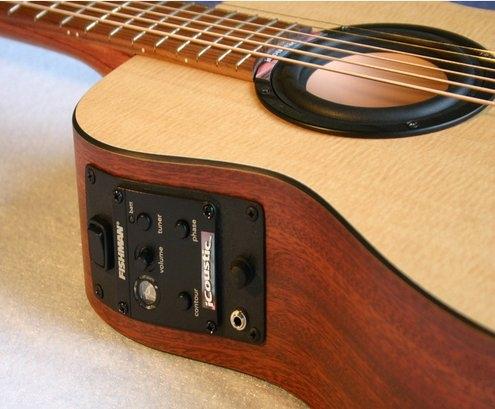 iCoustic Wireless Bluetooth Guitar – акустическая гитара с поддержкой Bluetooth