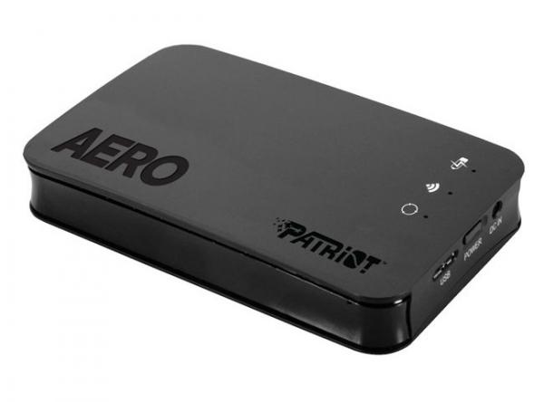 Patriot Aero – беспроводное хранилище данных для мобильных устройств