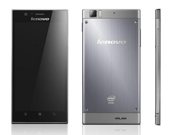 Lenovo K900 — Android-смартфон на базе процессора Intel Atom