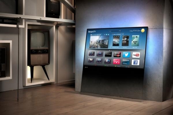 Необычные телевизоры Philips DesignLine TV