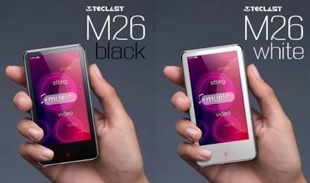 Teclast M26 – портативный медиаплеер с сенсорным экраном