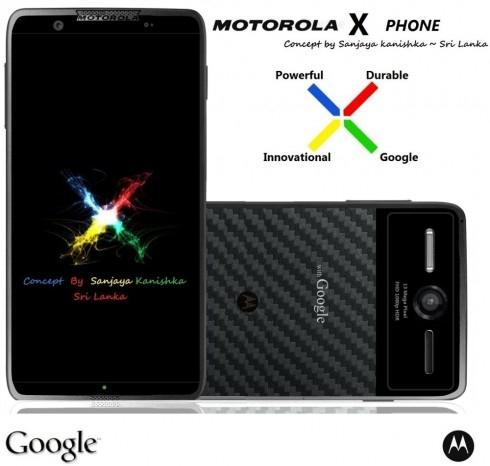 Новые подробности о Motorola X Phone