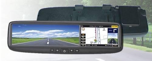 DS-400GB – навигационная система в зеркале заднего вида