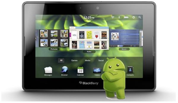Одна пятая всех приложений Blackberry 10 – софт с платформы Android