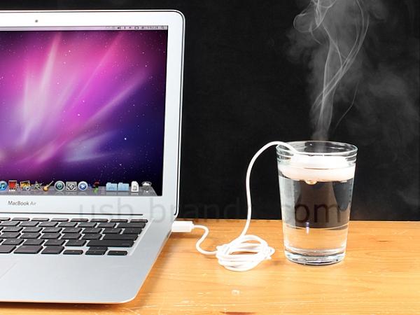 Компактный увлажнитель воздуха USB Doughnut Humidifier
