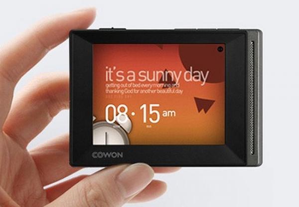 Сенсорный MP3-плеер Cowon D20