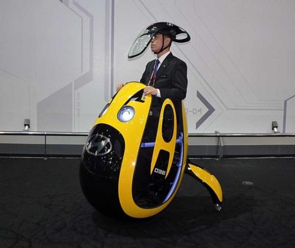 Hyundai показала «персональный автомобиль» E4U