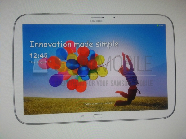 Фотографии нового флагманского планшета Samsung попали в сеть