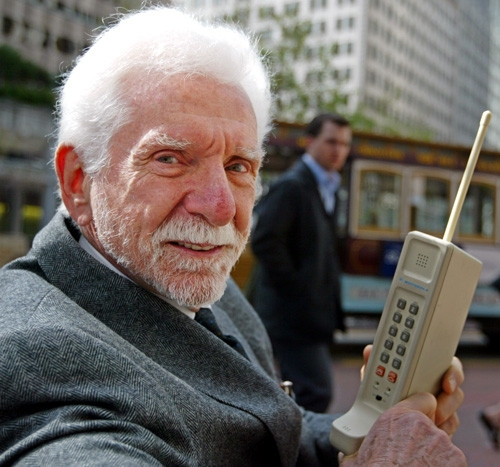Исполнилось 40 лет первому звонку по сотовому