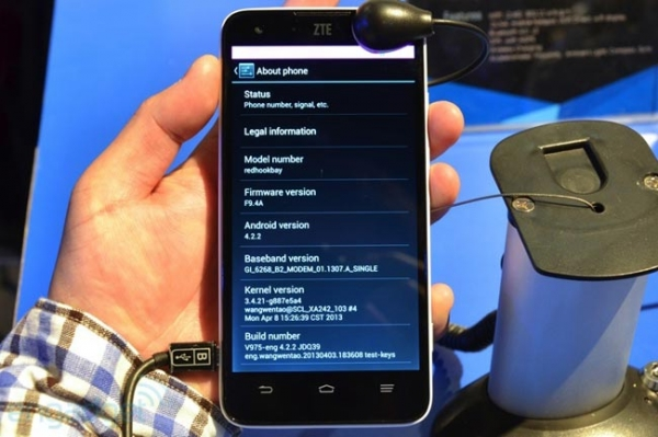 Анонсирован Android-смартфон ZTE Geek на базе Intel