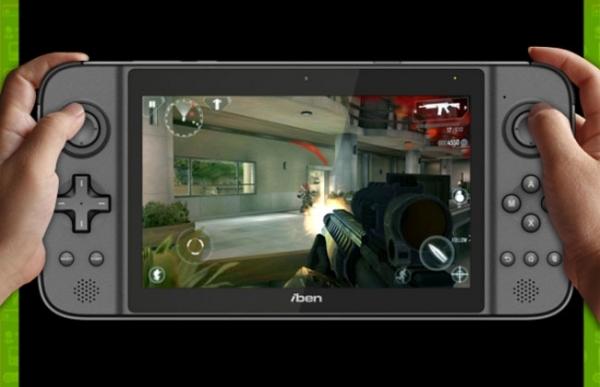 IbenX GamePad — портативная игровая консоль с ОС Android