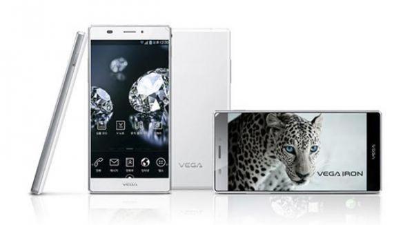 5-дюймовый Android-смартфон Pantech Vega Iron