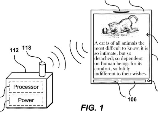 Amazon оформляет патент на «беспроводной дисплей» с индукционным питанием