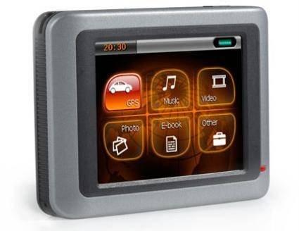 GPS-навигатор начального уровня LongHorn GoGo800 GPS
