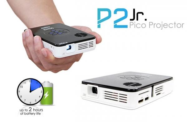 Миниатюрный проектор AAXA P2 Jr Pico Projector