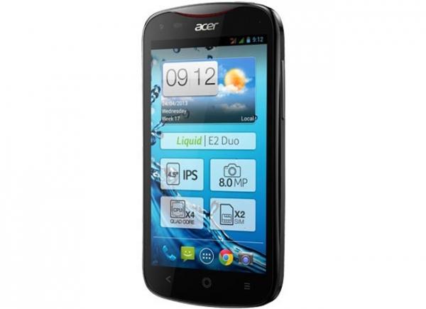 Анонс смартфона Acer Liquid E2